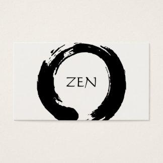 禅の円の黙想の名刺 名刺