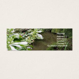 禅の庭のHostA スキニー名刺