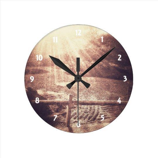 禅の庭 ラウンド壁時計