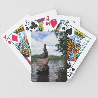 禅の石のカジノカード バイスクルトランプ