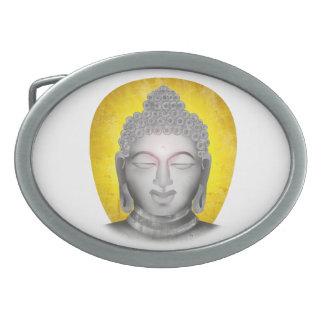 禅仏 卵形バックル