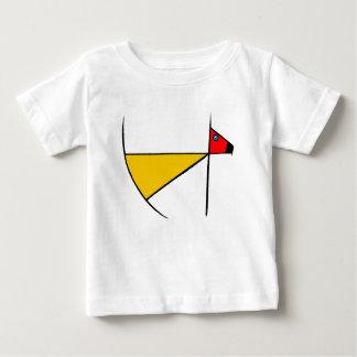 禅犬の乳児のTシャツ ベビーTシャツ