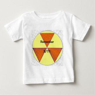 福島の核による惨事 ベビーTシャツ