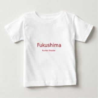 福島の核による惨事(赤い手紙) ベビーTシャツ