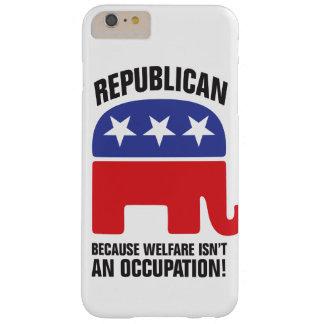 -福祉が職業ではないので共和党! BARELY THERE iPhone 6 PLUS ケース