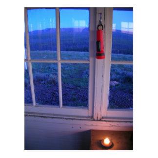 禿げたビュートの火の眺望 ポストカード