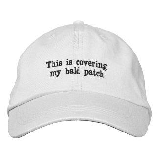 禿げた人-帽子のためのギフト 刺繍入りキャップ