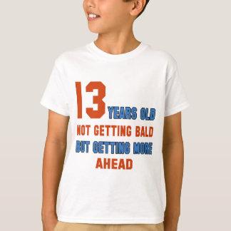 禿げているならない13歳、 Tシャツ