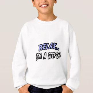 、私ありますステップパパがリラックスして下さい スウェットシャツ