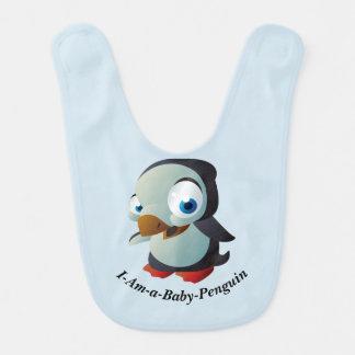 私あベビーペンギンのベビー用ビブ ベビービブ