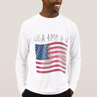 私およびあなたのためのあなた自身の米国を作成して下さい Tシャツ