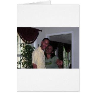 私およびエリックの間抜けな写真 カード