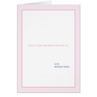 私があなたを望む何をほとんどは…あります カード