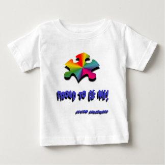 私があること誇りを持った ベビーTシャツ