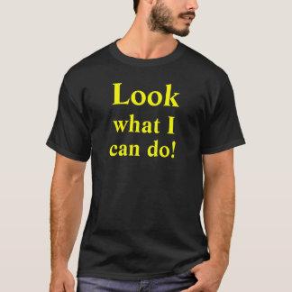 私がいいもの見て下さいしても! カスタムなTシャツ Tシャツ