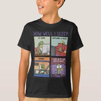 私がいかに眠るか Tシャツ