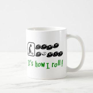 私がいかに転がるか コーヒーマグカップ