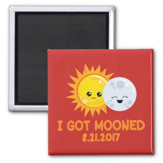 私がうろついて得たおもしろいな日食| マグネット