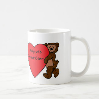 私がくまを保護するのを救済して下さい コーヒーマグカップ
