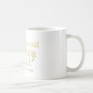 私がそれを知っているように生命- PS I愛 コーヒーマグカップ