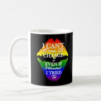 私がにほしくてLGBTQIA Iは変わることができません コーヒーマグカップ
