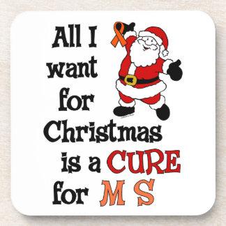 私がクリスマス… MSのためにほしいすべて コースター