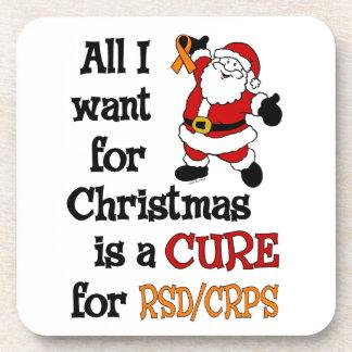 私がクリスマス… RSD/CRPSのためにほしいすべて コースター