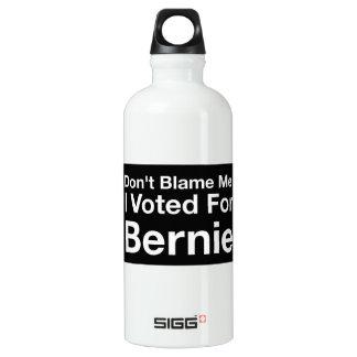 私がベルニーの水差しのために投票した私の責任にしないで下さい ウォーターボトル
