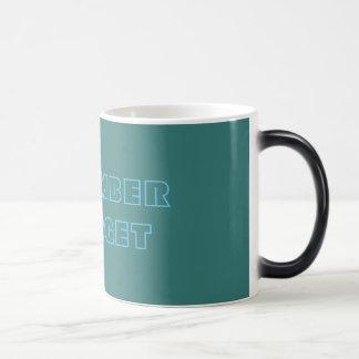 私がマグを忘れることを覚えて下さい モーフィングマグカップ