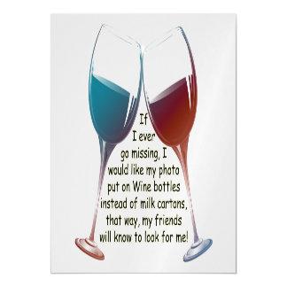 私がマグネティック・カードを言うおもしろいのワインを恋しく思うことを行けば マグネットカード