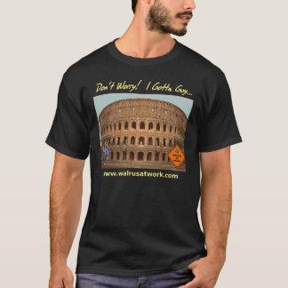 私が人のTシャツに得たColosseumのプロジェクト(暗い) Tシャツ