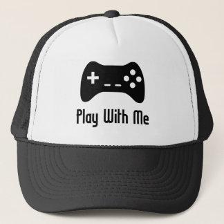私が付いている演劇ビデオゲーム キャップ