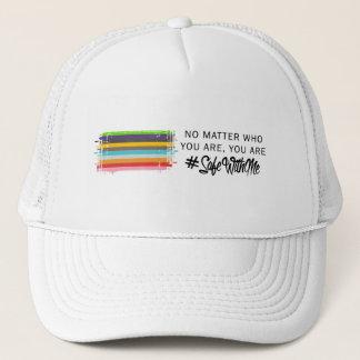 私が付いている金庫旗のトラック運転手の帽子 キャップ