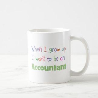 私が会計士を育つ時 コーヒーマグカップ