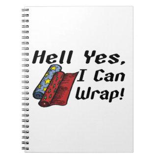 私が包んでもいい地獄のYes ノートブック