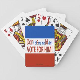 私が彼のために投票しなかった私の責任にしないで下さい! トランプ