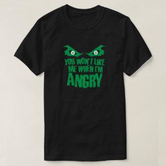 私が怒っている大衆文化のとき私を好みません Tシャツ