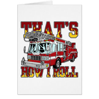 私が普通消防車をいかに転がるか カード