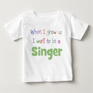 私が歌手を育つ時 ベビーTシャツ