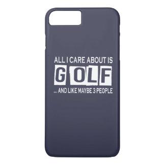 私が気にするすべては約ゴルフです iPhone 8 PLUS/7 PLUSケース