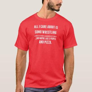 私が気にするすべては約相撲レスリングのスポーツです Tシャツ