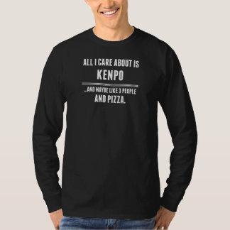 私が気にするすべては約Kenpoのスポーツです Tシャツ
