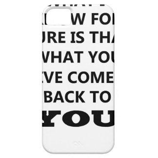私が知っているものはことですyoに戻るか与える何を iPhone SE/5/5s ケース