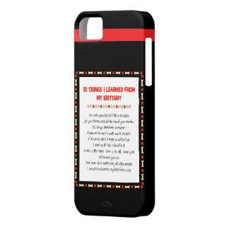 私が私のブリッタニーから学んだおもしろいな事 iPhone SE/5/5s ケース