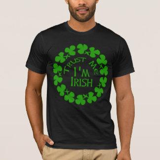 私が私アイルランドプロダクトであることを信頼して下さい Tシャツ