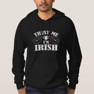 私が私アイルランド語であることを信頼して下さい パーカ