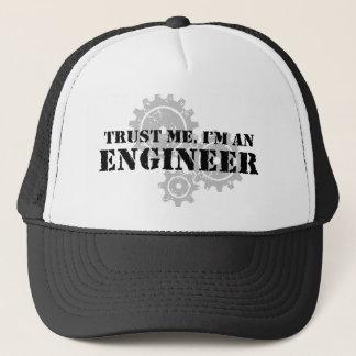 私が私エンジニアであることを信頼して下さい キャップ