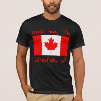 私が私カナダプロダクトであることを信頼して下さい Tシャツ