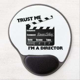 私が私ディレクターであることをClapboard信頼して下さい ジェルマウスパッド