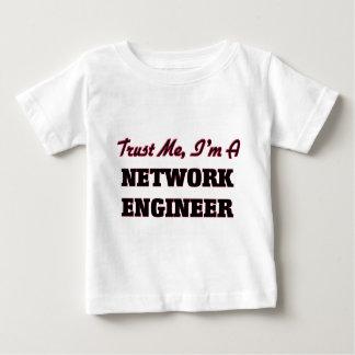 私が私ネットワークエンジニアであることを信頼して下さい ベビーTシャツ